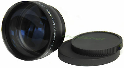 52mm 2X TELEPHOTO Tele LENS for Nikon , Pentax 18-55mm New