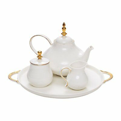 NEW Salt & Pepper Eclectic Tea Set 4pc (RRP $100)
