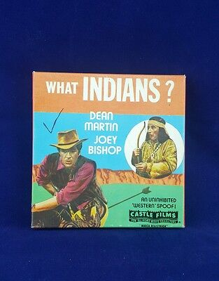 """What Indians?"" Dean Martin Joey Bishop Castle Films Super 8mm Film No 1067"
