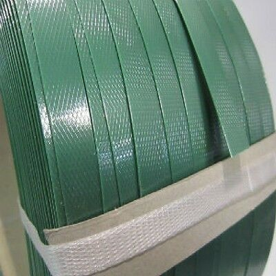 15mm x 1000m Green Machine Band Poly Strap Strapping