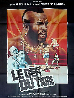 1982 PENITENTIARY 2 Mr. T Leon Isaac Kennedy Boxing 47x63 French movie poster
