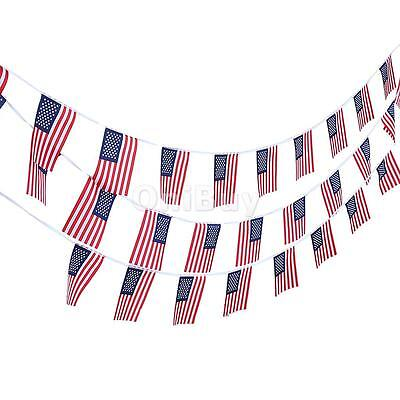 10M Usa American Stars Stripes Flag Bunting Banner Party Decoration