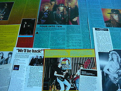 Dokken - Magazine Cuttings Collection (Ref S4)