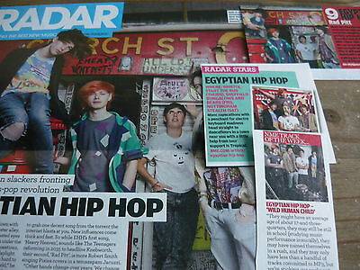 Egyptian Hip-Hop - Magazine Cuttings Collection (Ref Z4)