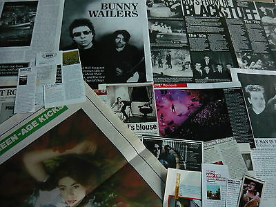Echo & The Bunnymen - Magazine Cuttings Collection (Ref Zc)
