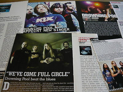 Drowning Pool - Magazine Cuttings Collection (Ref X1A)