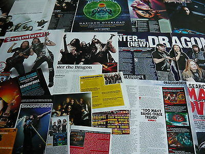 Dragonforce - Magazine Cuttings Collection (Ref X1A)