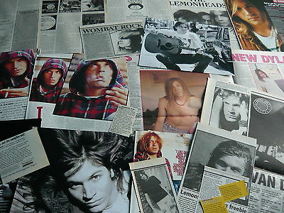 Evan Dando/lemonheads - Magazine Cuttings Collection (Ref Z16)