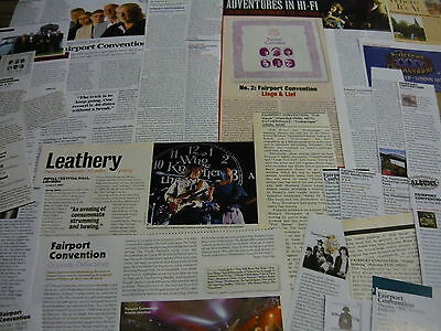Fairport Convention - Magazine Cuttings Collection (Ref Z)