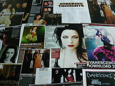 Evanescence - Magazine Cuttings Collection (Ref X1A)