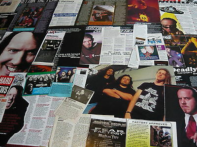 Fear Factory - Magazine Cuttings Collection (Ref B1)