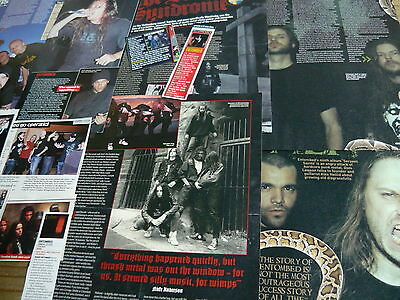 Entombed - Magazine Cuttings Collection (Ref X1B)