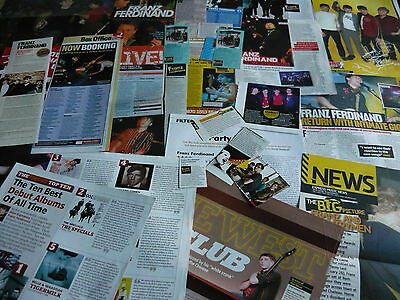 Franz Ferdinand - Magazine Cuttings Collection (Ref T4)