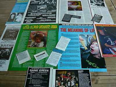 Gang Green - Magazine Cuttings Collection (Ref T6)