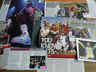 Goldie Lookin' Chain - Magazine Cuttings Collection (Ref Z6)
