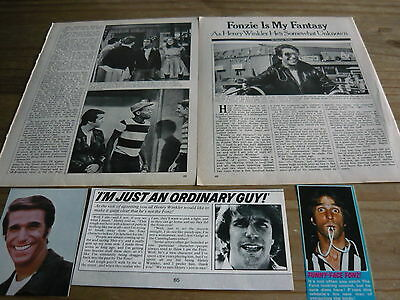 Henry Winkler - Magazine Cuttings Collection (Ref Sb)