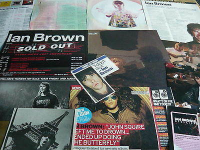 Ian Brown - Magazine Cuttings Collection (Ref Xd)