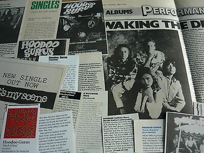 Hoodoo Gurus - Magazine Cuttings Collection (Ref Z6)
