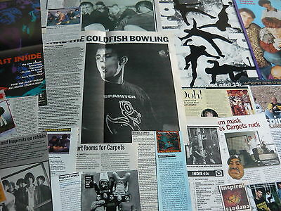 Inspiral Carpets - Magazine Cuttings Collection (Ref S2)