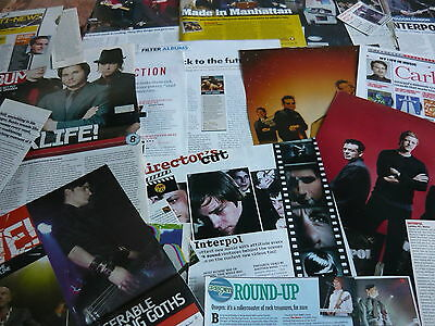Interpol - Magazine Cuttings Collection (Ref Z8)