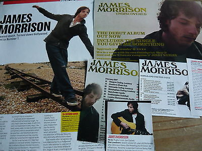 James Morrison - Magazine Cuttings Collection (Ref Xd)
