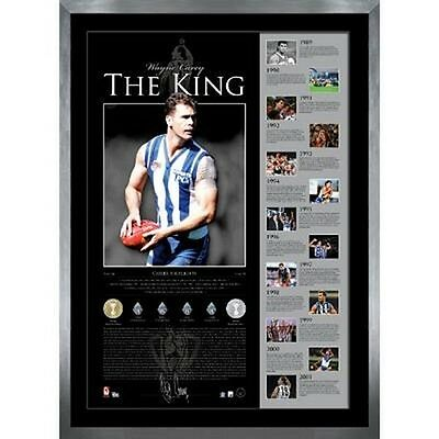 Wayne Carey  The King  Limited Edition Hand Signed Print