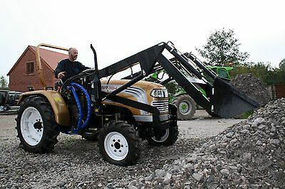 NEW 2017 FOTON compact tractor for mower topper 1.6 D  4wd 10 gears pwr stg