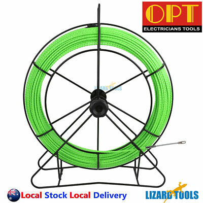 4.8mm x 100M ABS Housing Fiberglass Cable Snake Rodder Cable Puller Taiwan T0251