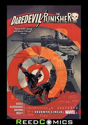 DAREDEVIL PUNISHER SEVENTH CIRCLE GRAPHIC NOVEL Paperback Collects 4 Part Series