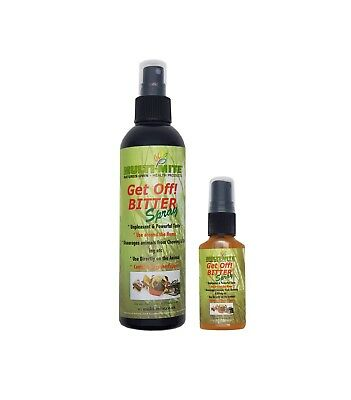 MULTI MITE Get Off! Bitter Apple Spray 30ml or 250ml - Grannicks Anti Chewing