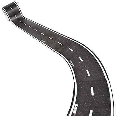 Inroad Toys Play Tape Classic Road Series Curved Section Road Tape Set of 4 NEW