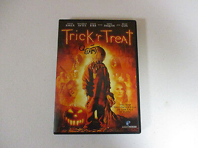 Trick R Treat Quinn Lord Sam Autographed Signed Dvd Exact Signing Proof