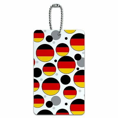 Luggage Card Suitcase Carry-On ID Tag Country National Flag C-I