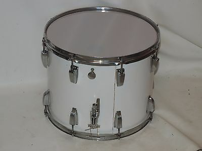 "Ludwig 15"" Marching Snare Drum Chicago Badge 3106323 New Heads"