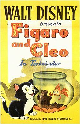 FIGARO AND CLEO Movie POSTER 11x17