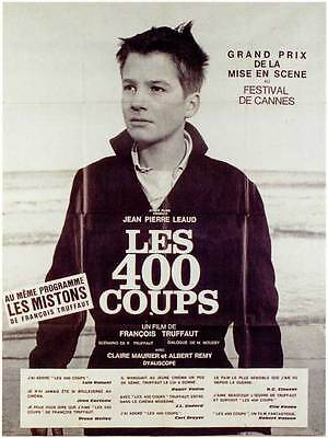 THE 400 BLOWS Movie Promo POSTER Foreign C Francois Truffaut Jean-Pierre Leaud