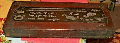 Antique Victorian Wood Mold Form Block-#3-Architectural Furniture Mold-Very Old