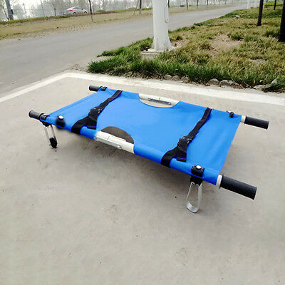 Foldable Medical Ambulance Emergency Rescue Patient Kid Wheel Bed Stretcher
