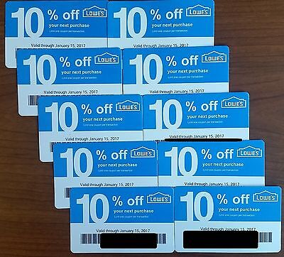 Lowes 10 off coupon home depot