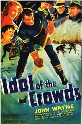 IDOL OF THE CROWDS Movie POSTER 11x17 John Wayne Sheila Bromley Charles Brokaw