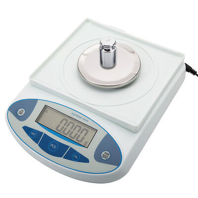 300G x 0.001G Electronic Digital Balance Laboratory Weight Precision Scale US