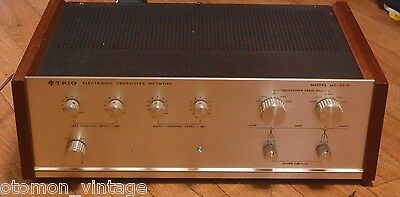 70s year Vintage TRIO model MF-5010 electronic crossover FREQUENCY NETWORK