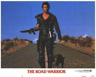 MAD MAX 2: THE ROAD WARRIOR Movie Promo POSTER F Mel Gibson Bruce Spence
