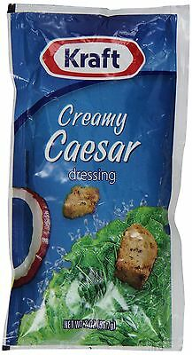 Kraft Creamy Caesar Dressing 2-Ounce Pouches (Pack of 60), Salad Dressings NEW