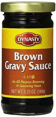 Dynasty Brown Gravy Sauce, 5.25 Ounce (Pack of 12) [Brown] (23071) NEW