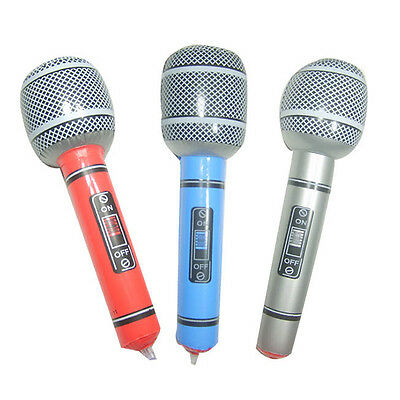 Musical Inflatable Microphone Music Singing Favor Star Toy Children Gift