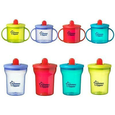 Tommee Tippee First Cup Beaker Leak-Proof Spout Free Flow (colours vary)