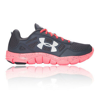 Under Armour Micro G Engage BL H 2 Mujer Rosa Negro Running Zapatos Zapatillas