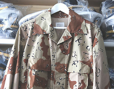 Us Army-Navy-Air Force Multi Colour Camouflage Combat Coat (A).