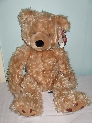 Beautiful Russ Beckett Cream Teddy Bear Soft toy. 20 inches high. With Tags